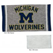 Michigan Wolverines Workout Exercise Towel