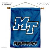 Middle Tennessee Blue Raiders Wall Banner