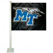 Middle Tennessee State Car Window Flag