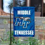 Middle Tennessee State University Garden Flag