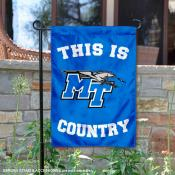 Middle Tennessee University Country Garden Flag