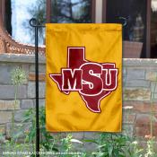 Midwestern State Mustangs Garden Flag