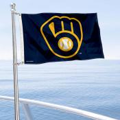 Milwaukee Brewers Boat and Nautical Flag