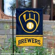 Milwaukee Brewers Double Sided Garden Flag