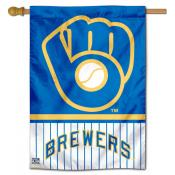 Milwaukee Brewers Double Sided House Flag