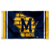 Milwaukee Brewers State of Wisconsin Logo 3x5 Large Banner Flag