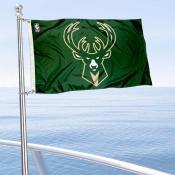Milwaukee Bucks Boat and Nautical Flag