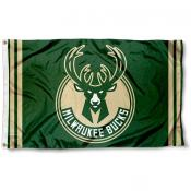 Milwaukee Bucks New Logo Flag