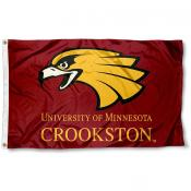 Minnesota Crookston Golden Eagles Flag