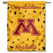 Minnesota Gophers Congratulations Graduate Flag