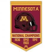 Minnesota Gophers Football National Champions Banner
