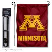 Minnesota Gophers Garden Flag and Pole Stand