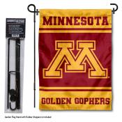 Minnesota Gophers Garden Flag and Pole Stand Holder