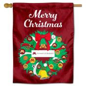 Minnesota Gophers Happy Holidays Banner Flag