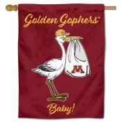 Minnesota Gophers New Baby Flag