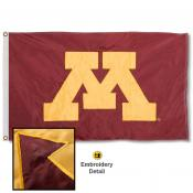 Minnesota Gophers Nylon Embroidered Flag