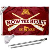 Minnesota Gophers Row The Boat Flag Pole and Bracket Kit