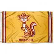 Minnesota Gophers Throwback Vault Logo Flag