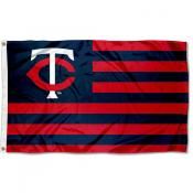 Minnesota Twins Americana Nation Flag