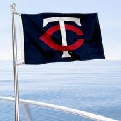Minnesota Twins Boat and Nautical Flag