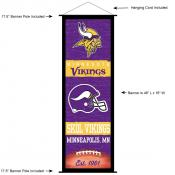 Minnesota Vikings Decor and Banner