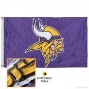 Minnesota Vikings Embroidered Nylon Flag