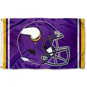 Minnesota Vikings New Helmet Flag