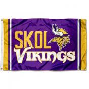 Minnesota Vikings SKOL Flag