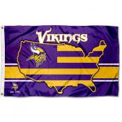 Minnesota Vikings USA Country Flag