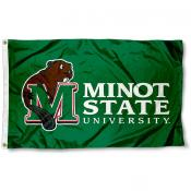 Minot State Beavers Flag