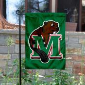 Minot State Beavers Logo Garden Flag