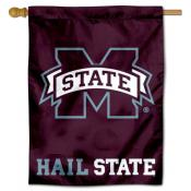Miss State Bulldogs Hail State Banner Flag