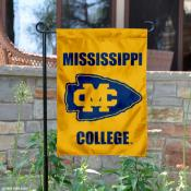 Mississippi College Choctaws Logo Garden Flag