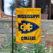 Mississippi College Choctaws Logo Garden Flag