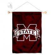 Mississippi State Bulldogs Banner with Suction Cup