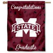 Mississippi State Bulldogs Congratulations Graduate Flag