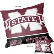 Mississippi State Bulldogs Double Sided Pillow