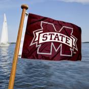 Mississippi State Bulldogs Nautical Flag