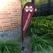 Mississippi State Bulldogs Small Feather Flag