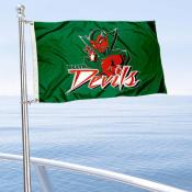 Mississippi State Delta Devils Boat and Mini Flag