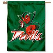 Mississippi State Delta Devils Double Sided House Flag