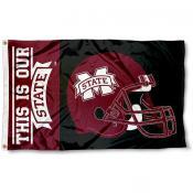 Mississippi State Football Flag
