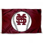 Mississippi State University Baseball Flag