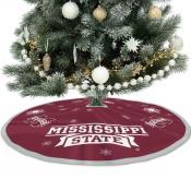Mississippi State University Bulldogs Christmas Tree Skirt