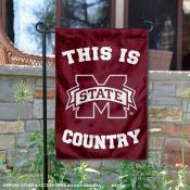 Mississippi State University Country Garden Flag