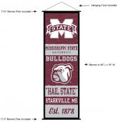 Mississippi State University Decor and Banner