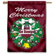 Mississippi State University Holiday Flag