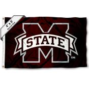 Mississippi State University Large 4x6 Flag