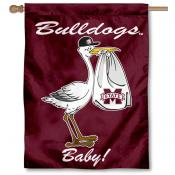 Mississippi State University New Baby Flag