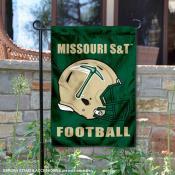 Missouri S&T Miners Helmet Yard Garden Flag